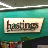 Photo taken at Hastings by Josh C. on 1/16/2013