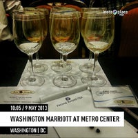 Photo taken at Washington Marriott at Metro Center by Eric K. on 5/9/2013