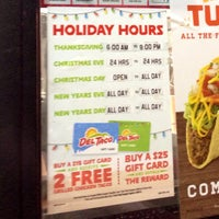 Photo taken at Del Taco by Harvey C. on 12/30/2013