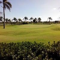 Photo taken at Golf Bavaro by Renan e A. on 1/26/2014