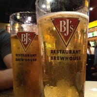 Photo taken at BJ's Restaurant and Brewhouse by Kristin L. on 4/29/2013