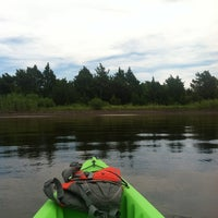 Photo taken at Barnegat Bay In My Kayak by Heather O. on 7/31/2013