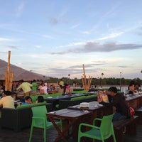 Photo taken at Lantaw Native Floating Restaurant by Megi D. on 3/24/2013