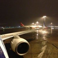Photo taken at East Midlands Airport by Alejandro M. on 1/26/2013