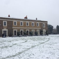 Photo taken at Fulham Palace Gardens by Andrew C. on 1/20/2013