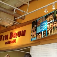 Photo taken at Tin Drum Asian Kitchen by Chad T. on 2/12/2013