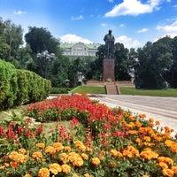 Снимок сделан в Парк им. Т. Г. Шевченко пользователем Светлана К. 6/23/2013