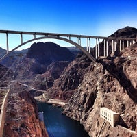 Photo taken at Hoover Dam by Светлана К. on 1/6/2013