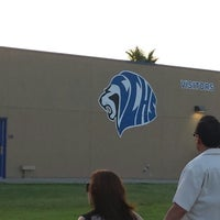 Photo taken at Cathedral City High School Stadium by Shannon G. on 6/12/2014