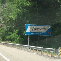 Photo taken at North Carolina / Tennessee State Line by Shannon G. on 5/27/2013