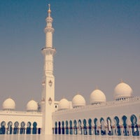 Photo taken at Sheikh Zayed Grand Mosque by Rolands C. on 5/14/2013
