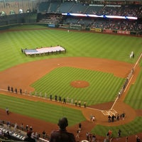 Photo taken at Minute Maid Park by David B. on 7/4/2013