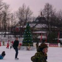 Photo taken at Каток «Новая лига» by Максим Г. on 1/2/2013