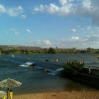 Photo taken at Barragem das Pedrinhas by Layanna A. on 12/25/2012
