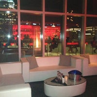 Photo taken at ONE80 Skytop Lounge by AdoraAdoreHer on 2/8/2013