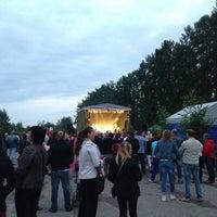 Photo taken at Priekuļi by Zane S. on 6/29/2013