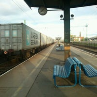 Photo taken at Tatabánya vasútállomás by Dávid K. on 11/6/2012