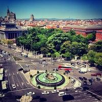 Foto tomada en Plaza de Cibeles por Maksim A. el 5/25/2013