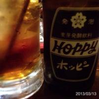 Photo taken at 肉屋鶏男 by yoshitak on 3/13/2013