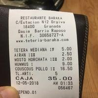 5/20/2018에 GigaBass님이 Baraka Restaurant에서 찍은 사진