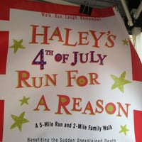 Photo taken at Haley's Run for a Reason by Alina on 7/4/2013