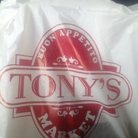 Photo taken at Tony's Market by Eric A. on 6/16/2013