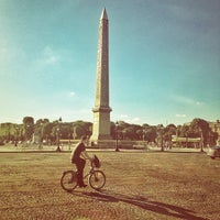 Photo prise au Place de la Concorde par Genaro B. le7/31/2013