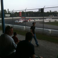 Photo taken at Barrie Speedway by Bill M. on 7/6/2013