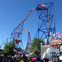 Photo taken at Superman Ultimate Flight by Barry M. on 6/17/2013