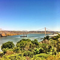 Photo taken at Vista Point - Benicia by Russell D. on 4/20/2013