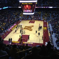 Photo taken at Williams Arena by Russell H. on 2/3/2013