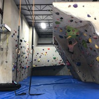 Photo taken at Ibex Climbing Gym by Rich B. on 4/28/2018