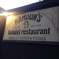 Photo taken at Mamoun's Falafel Restaurant by Ambear G. on 7/21/2013