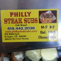 Photo taken at Philly Steak Subs by Louis L. on 3/26/2013