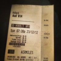 Photo taken at Cineplex Cinemas Winston Churchill by David C. on 12/24/2012