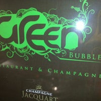 Photo taken at Green Bubble by J P. on 10/28/2012