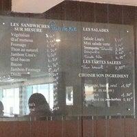 Photo taken at LINA'S Café by J P. on 10/11/2013