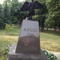 Photo taken at Angel Of Hope by Jennifer A. on 9/3/2013