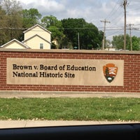 Photo taken at Brown vs. Board of Education National Historic Site by Pat C. on 5/16/2013