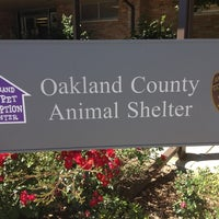 Photo taken at Oakland County Animal Control by Pat C. on 8/23/2013