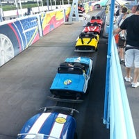 Photo taken at Tomorrowland® Speedway by Reinaldo R. on 9/17/2012