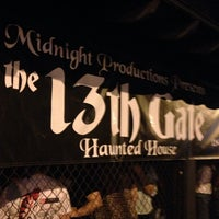 Photo taken at 13th Gate (Haunted House) by Corey T. on 10/31/2013
