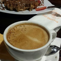 Photo taken at Max Brenner Chocolate Wollongong by Mel R. on 4/18/2015