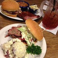Photo taken at Red Hot & Blue  -  Barbecue, Burgers & Blues by michael p. on 1/18/2013
