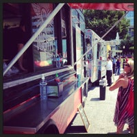 Photo taken at Food Truck Tuesdays In Buckhead by Andy R. on 7/30/2013