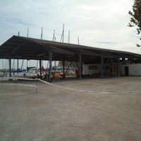 Photo taken at Balatonfüredi Yacht Club (BYC) by Attila P. on 10/6/2013