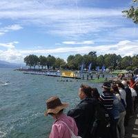 Photo taken at Triathlon De Lausanne by Yury V. on 8/25/2013