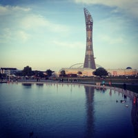 Photo taken at Aspire Park by Aliee on 3/2/2013