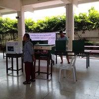 Photo taken at Wat Noi Noppakhun School by Chutchawal K. on 2/2/2014