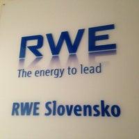 Photo taken at RWE by Tomas R. on 7/29/2013
